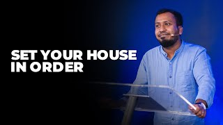 Set Your House In Order | All About Money (Week - 3) | Ps. Sam Ellis