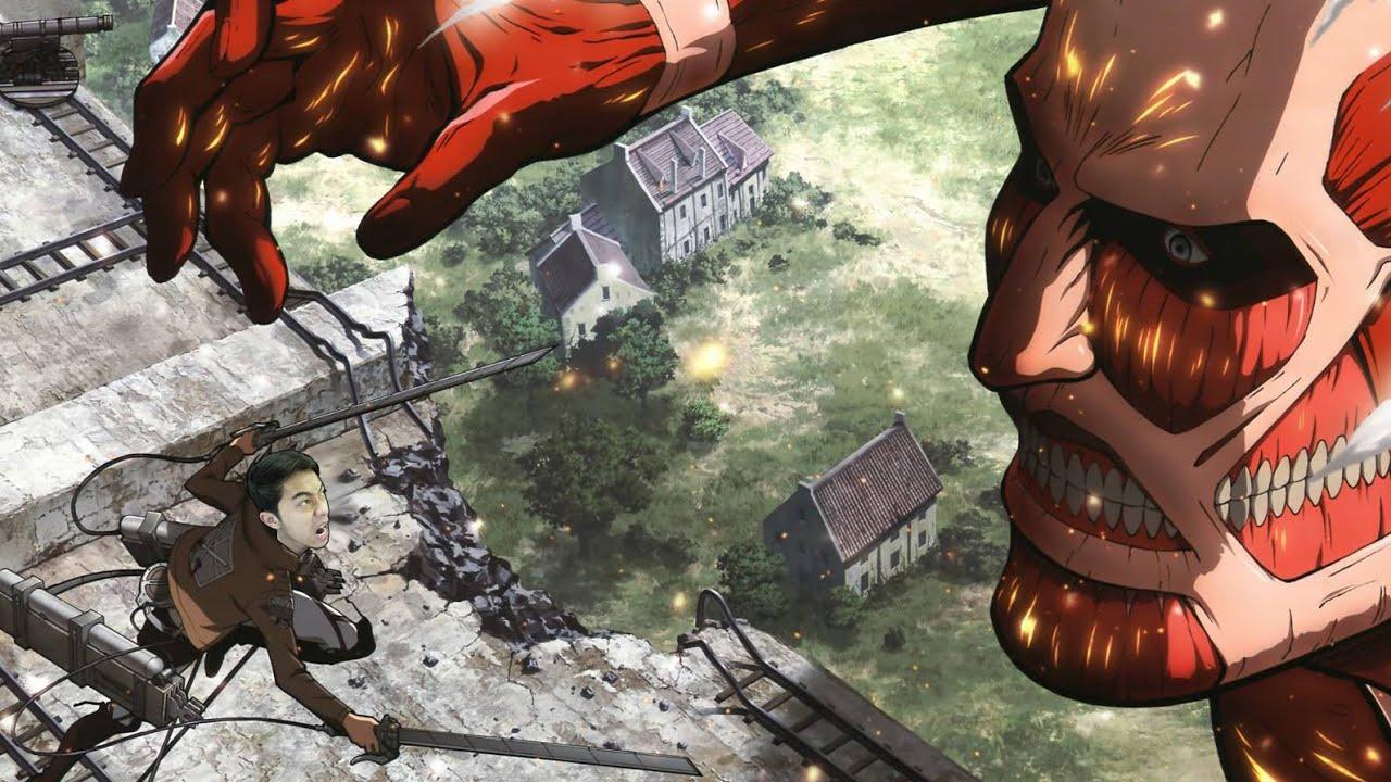 CrisDevilGamer cực bá trong Attack on Titan