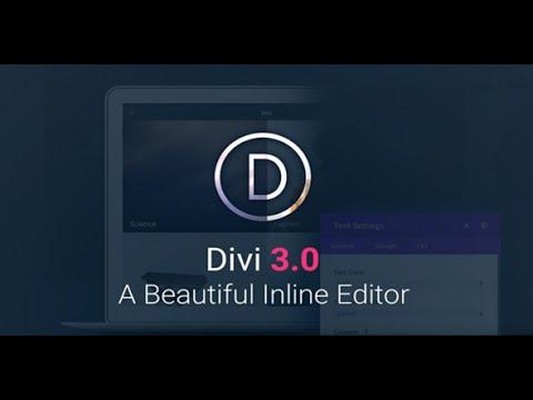 Divi v3.0.2 DESCARGA GRATIS!!! - YouTube