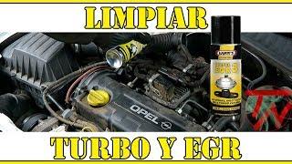 Como limpiar valvula egr y turbo FACIL Y RAPIDO 🚖