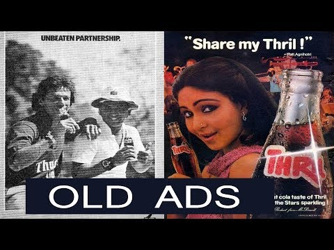 Best Indian Soft Drinks  Old Ads  | Thrill Soft Drink India Ads |  Indian Beverage Old Ads