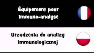 TRADUCTION EN 20 LANGUES = Équipement pour immuno analyse