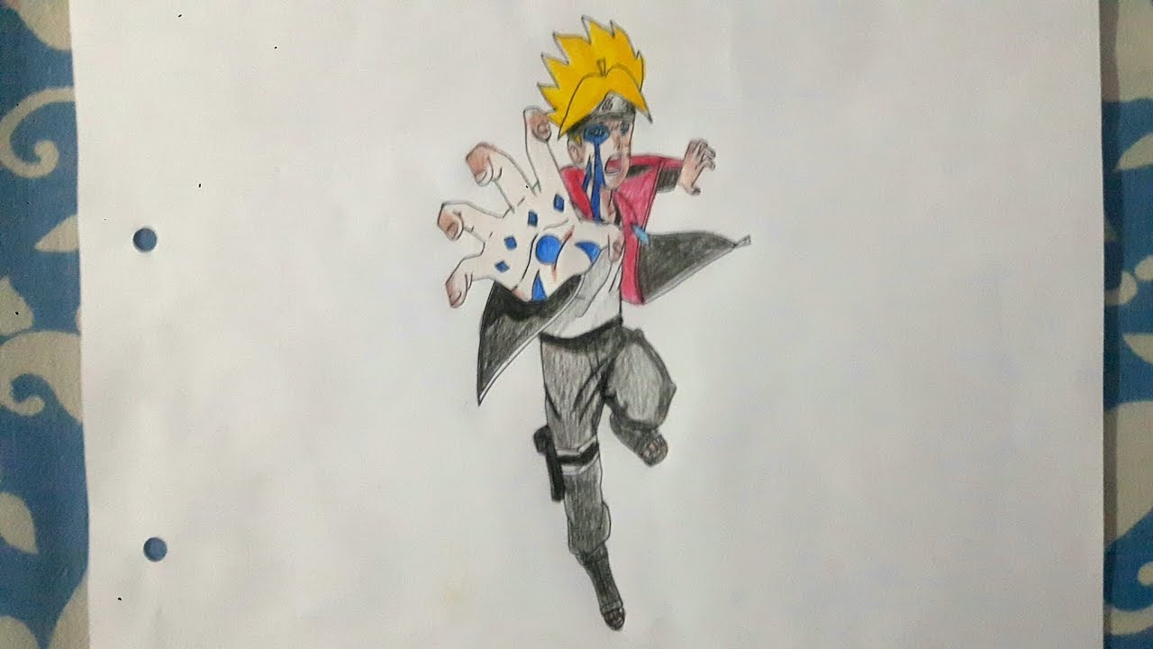 Drawing For Kids How To Draw Boruto Jougan