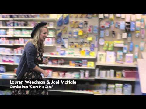 Outtakes Kittens in a Cage: Lauren Weedman & Joel McHale