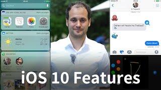 iOS 10 für iPhone & iPad ist da! 5 Funktionen vorgestellt (deutsch)