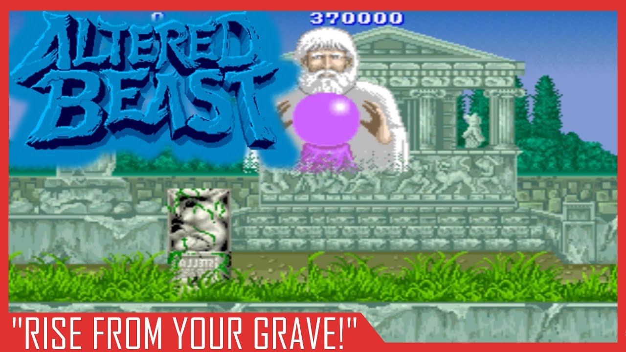 Rise From Your Grave Altered Beast Arcade Youtube