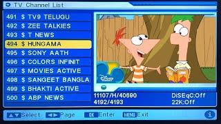 DD Libre del Plato Nuevo Canal Canal de dibujos animados Agregar Nueva frecuencia del Canal de pago Canal, canales de dólares