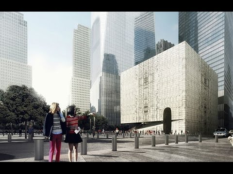Renderings revealed for the WTC performing arts center
