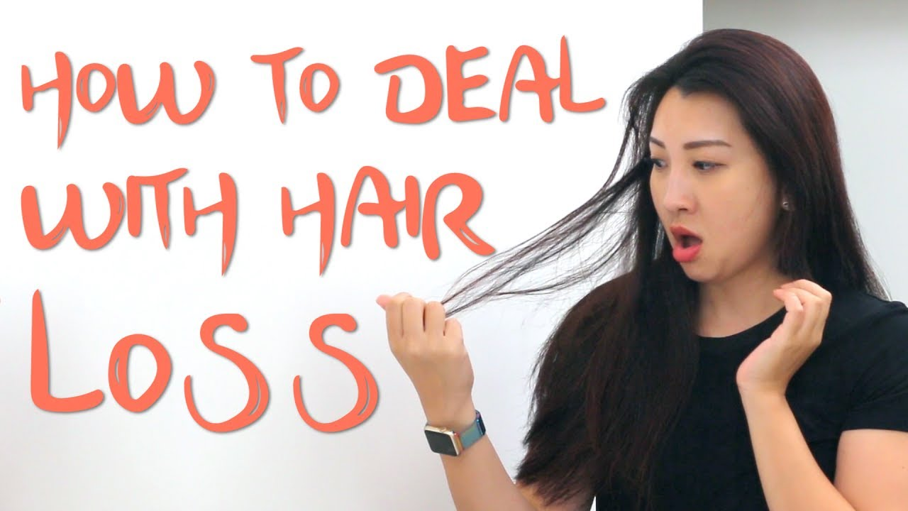 How To Deal With Hair Loss Youtube