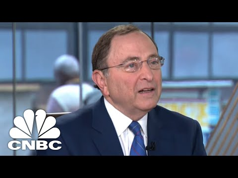 NHL Commissioner Gary Bettman On Legal Sports Betting | CNBC
