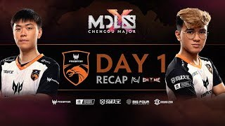 MDL Chengdu Major: TNC Predator Day 1 Recap