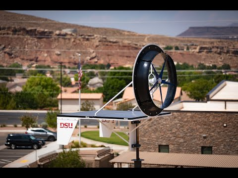 Solar Wind Turbine tested