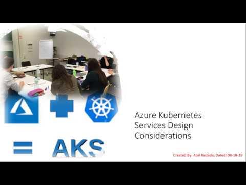 Azure Kubernetes Service (AKS) Design Considerations
