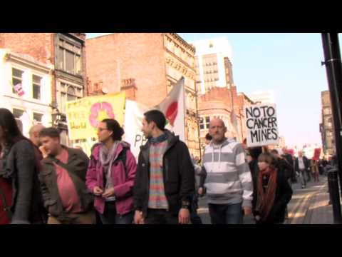 Fracking Awareness Rally/March Manchester