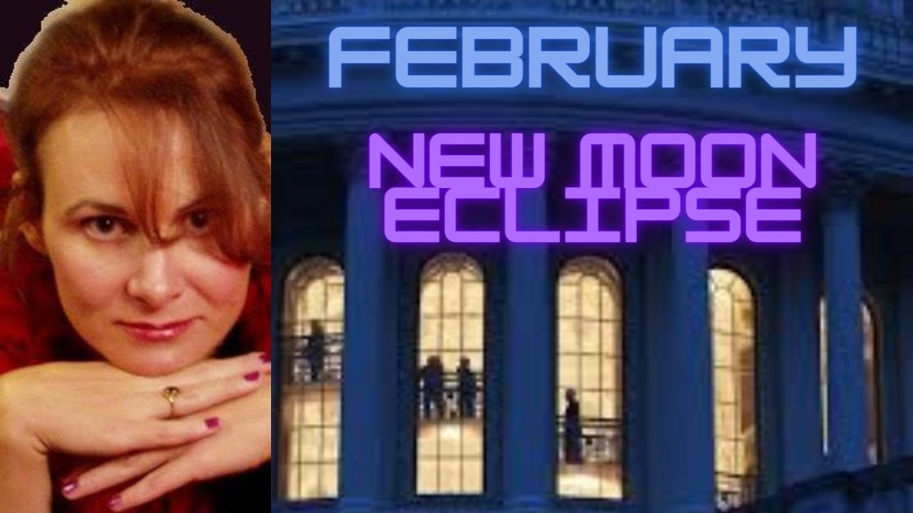When will Trump Leave the White House? Psychic Astrology Reading February  New Moon Eclipse