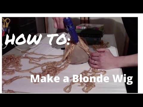 How to make a Wig for HALLOWEEN -Easy- Long Hair