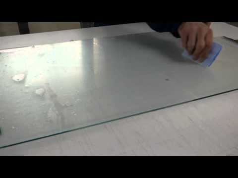 Multi Touch Film Wet Lamination To Glass Panel Demo Video