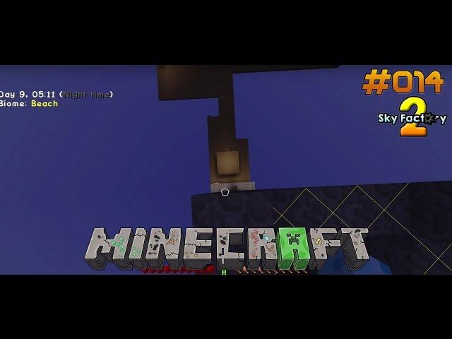 Let's Play Minecraft Sky-Factory 2 | Cobble-Lieferung auf die Mob-Farm | Folge #014