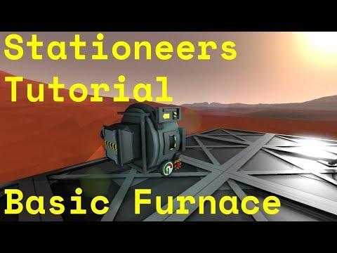 Stationeers Tutorial  Basic Furnace