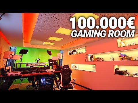 000€ Mein Gaming Im 100 Neuen Space RoomRoomtour sdxhrBtQC