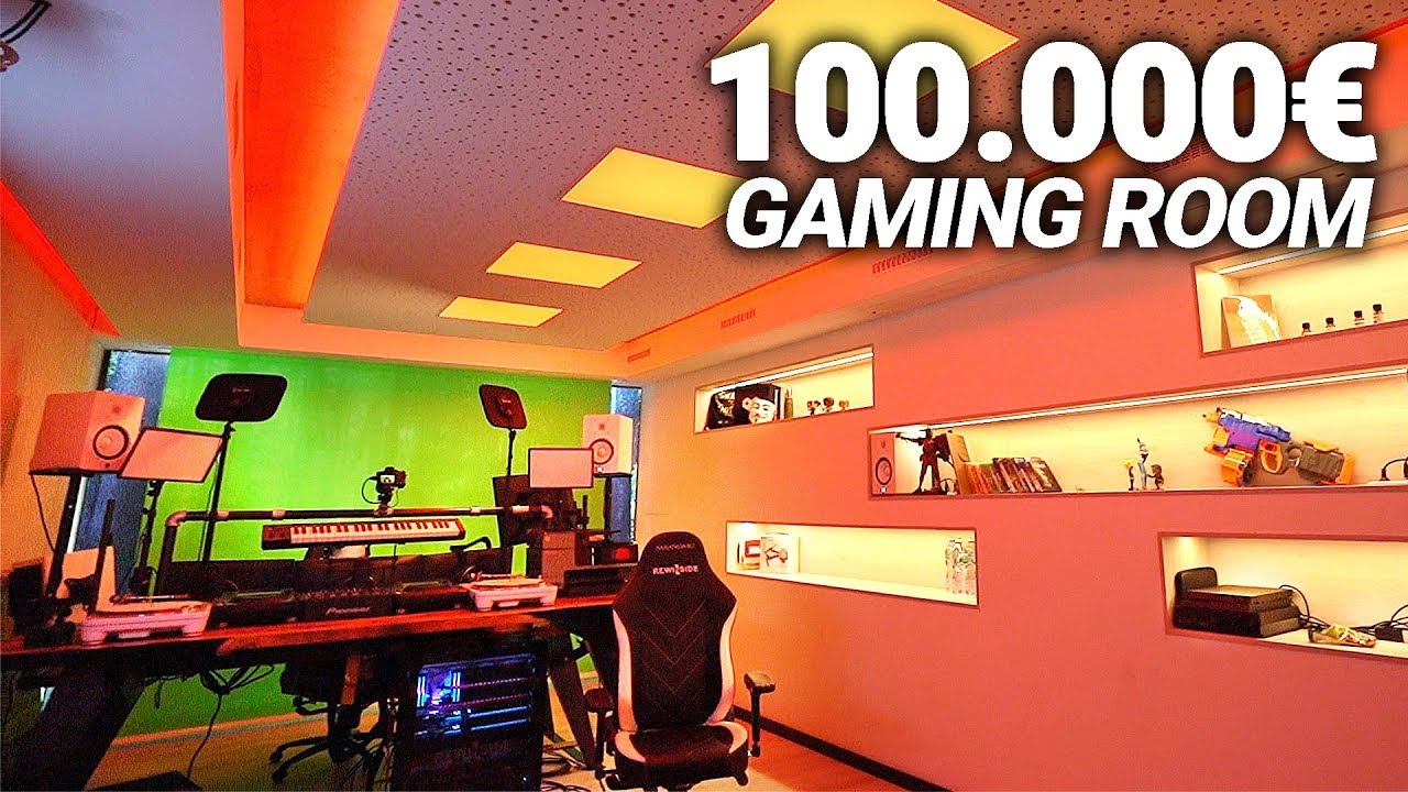 MEIN 100.000€ GAMING ROOM! Roomtour im NEUEN SPACE!