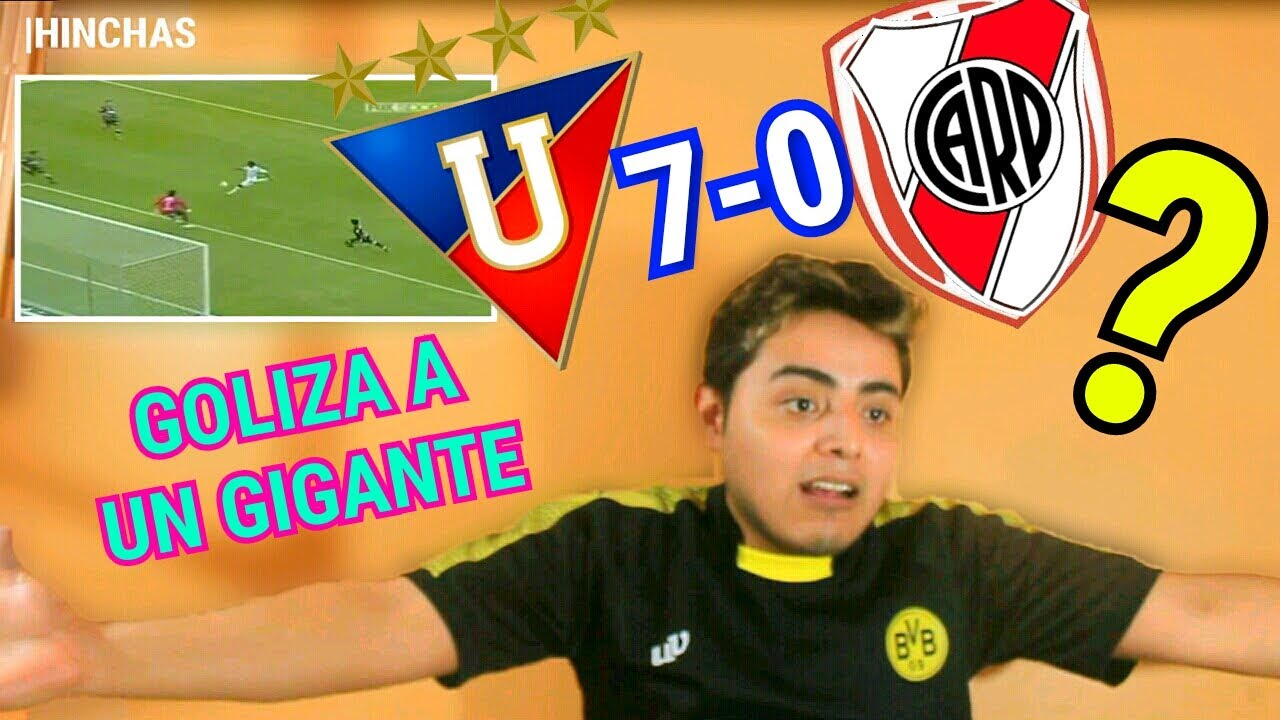 Liga de Quito vs River Plate Mexicano Reacciona Goliza Terrible a un Gigante? #QuedateEnCasa