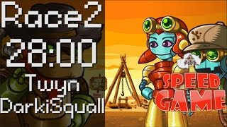Speed Game: SteamWorld Dig Any% Race 2 avec Seed