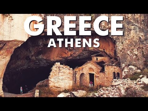 Most People Don't See This Attraction In Athens Greece. Davelis Cave