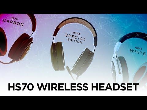 Corsair HS70 White Wireless 7 1 Surround PC Gaming Headset