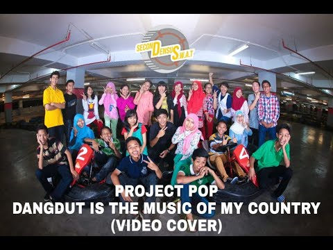 dangdut is the music of my country video cover kelas 88
