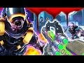 ESCAPE ATLANTIS!  DESCENT EASTER EGG FLAWLESS! Call of Duty Zombies!