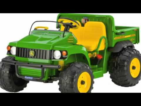 john deere kids electric ride on tractors