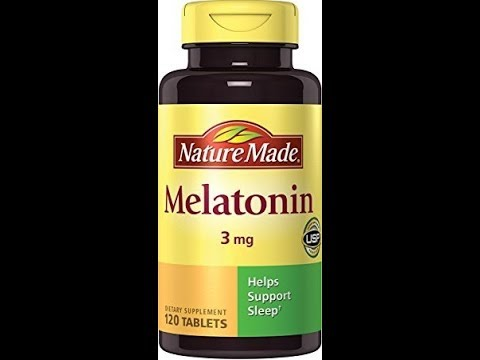 Nature Made Melatonin 3 mg Tablets 120 Ct