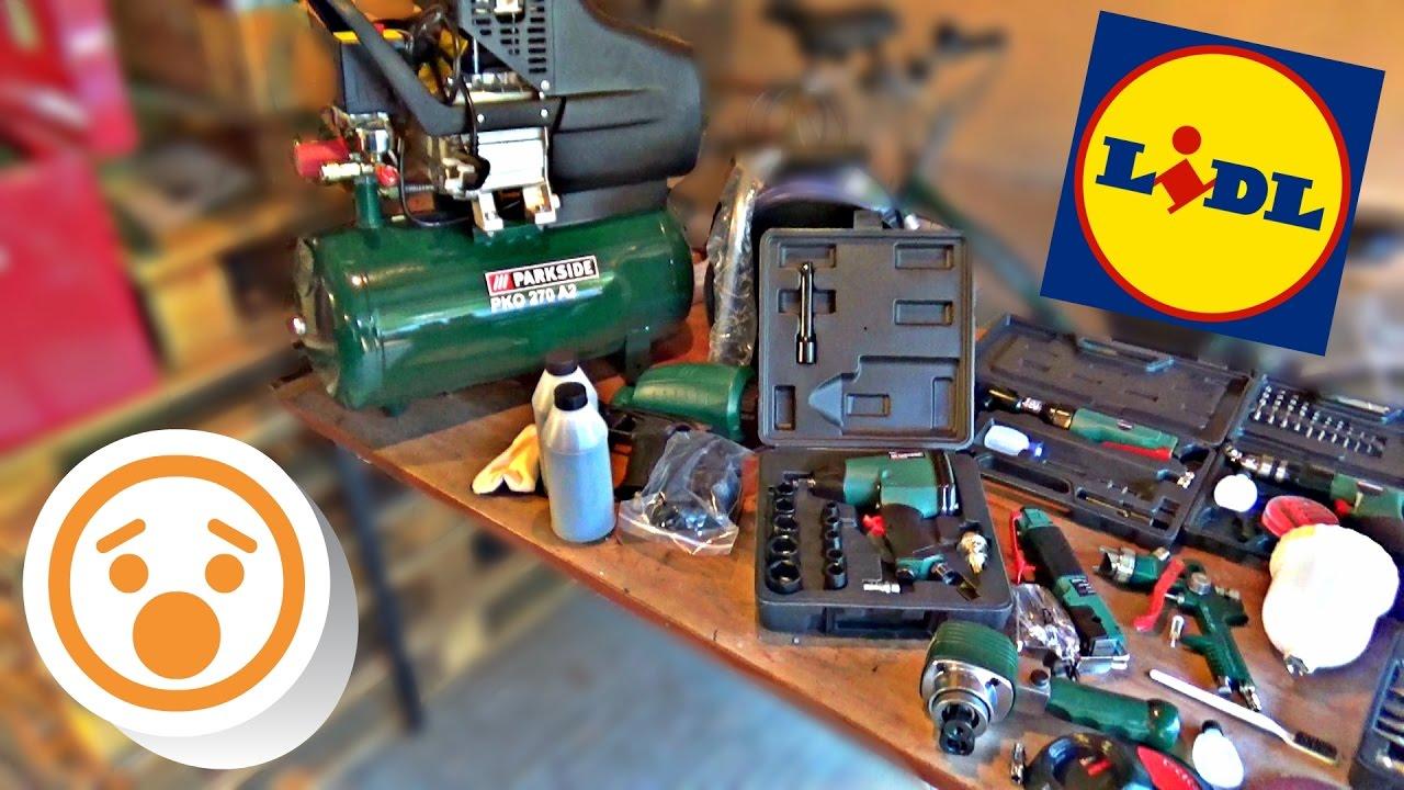 Lidl Sells Air Tools By The Savage Garage