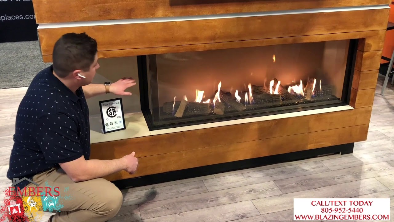 Download Ortal Corner Linear Fireplace vs. other Direct Vent Gas Product Review