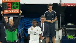 Debut Oficial de Vinicius Jr con el Real Madrid
