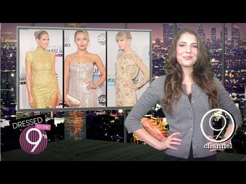 Heidi Klum & Taylor Swift at the American Music Awards | Dressed to the Nines | Ep. 7