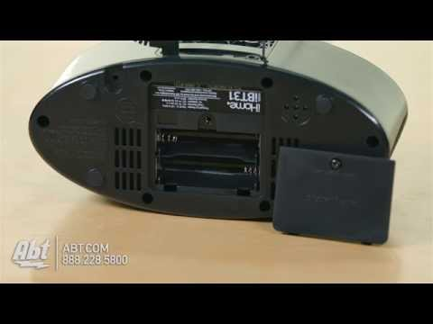 iHome Bluetooth Stereo FM Clock Radio And Speakerphone iBT31 - Overview