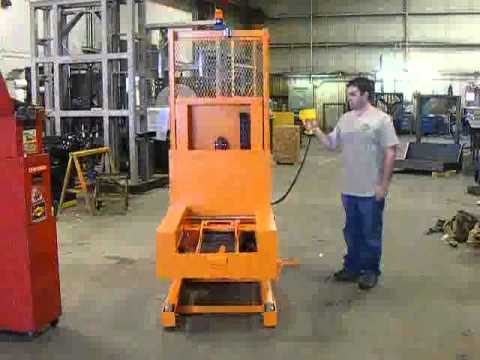 TItan Die Cart 3185: 1250 lb Capacity Phase 3 Engineering Test