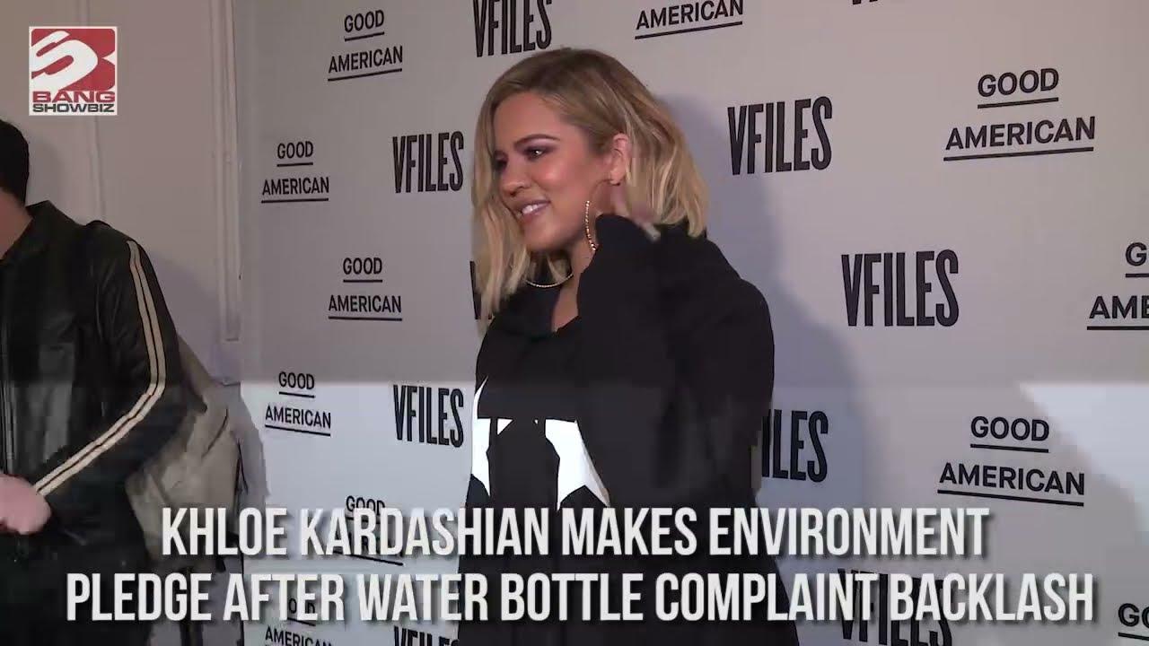 Khloe Kardashian makes environment pledge