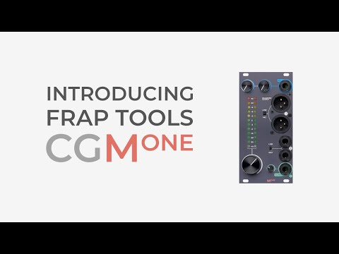 Frap Tools CGM Masterone – Professional Output Interface