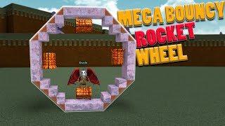 Mega Bouncy Rocket Wheel | Roblox | Fabbi Rocket Science !!