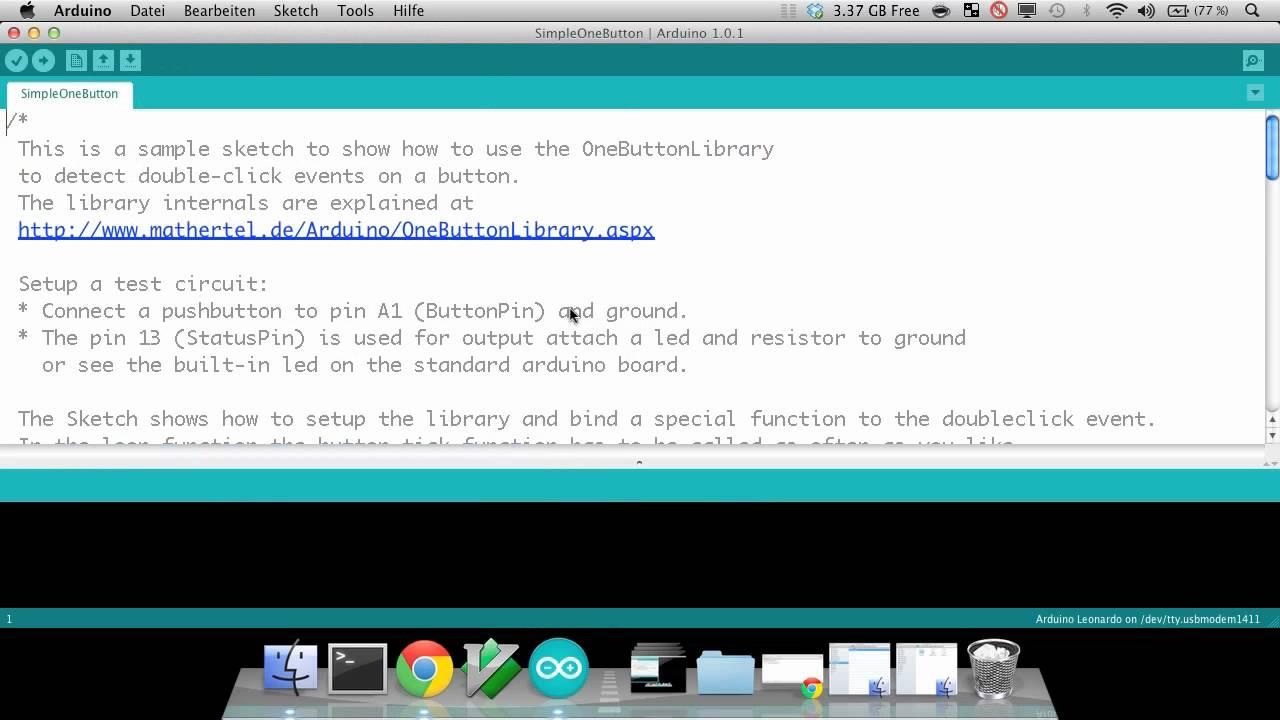 Arduino Tutorial: Kapitel 3 2 2: