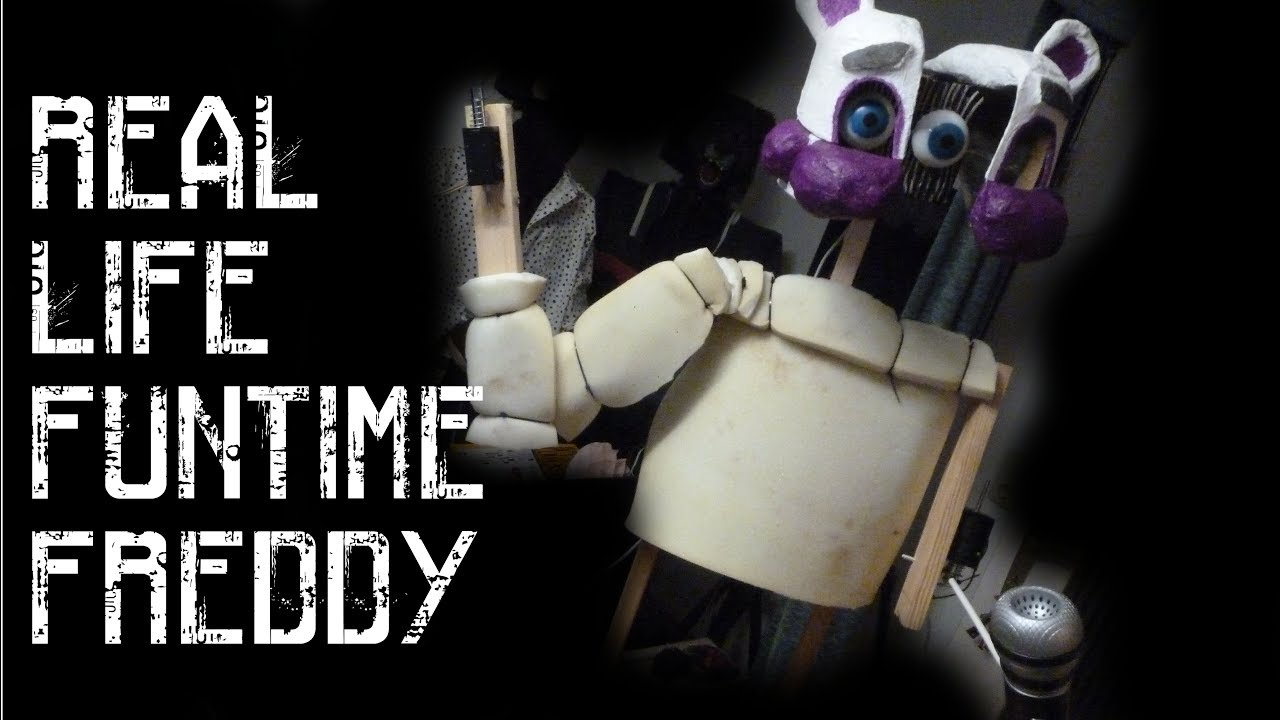 FNAF SISTER LOCATION Funtime Freddy Real Animatronic Head [PART#01]