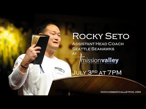 Mission Crusade - Coach Rocky Seto (Asst. Head Coach-Seattle Seahawks)
