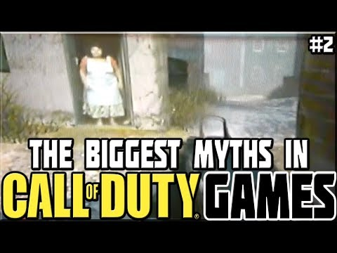 BIGGEST MYTHS IN CALL OF DUTY GAMES! #2