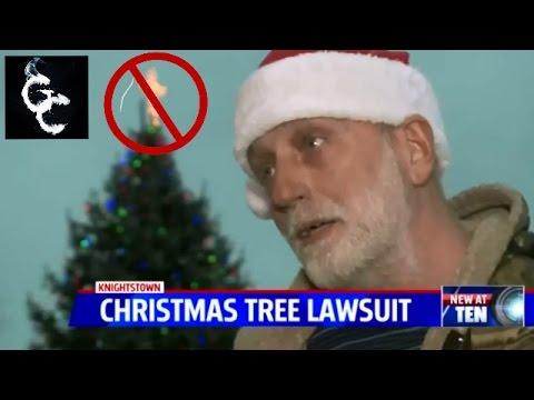 ACLU Sues Indiana Town Over Christmas Tree Cross ...
