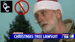 ACLU Sues Indiana Town Over Christmas Tree Cross : Response to Anthony Brian Logan