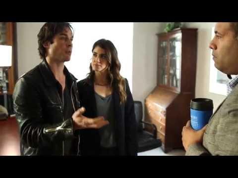 Nikki Reed and Ian Somerhalder #BestDayEver Behind The Scenes