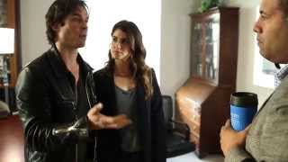 Nikki Reed and Ian Somerhalder #BestDayEver Behind The Scenes